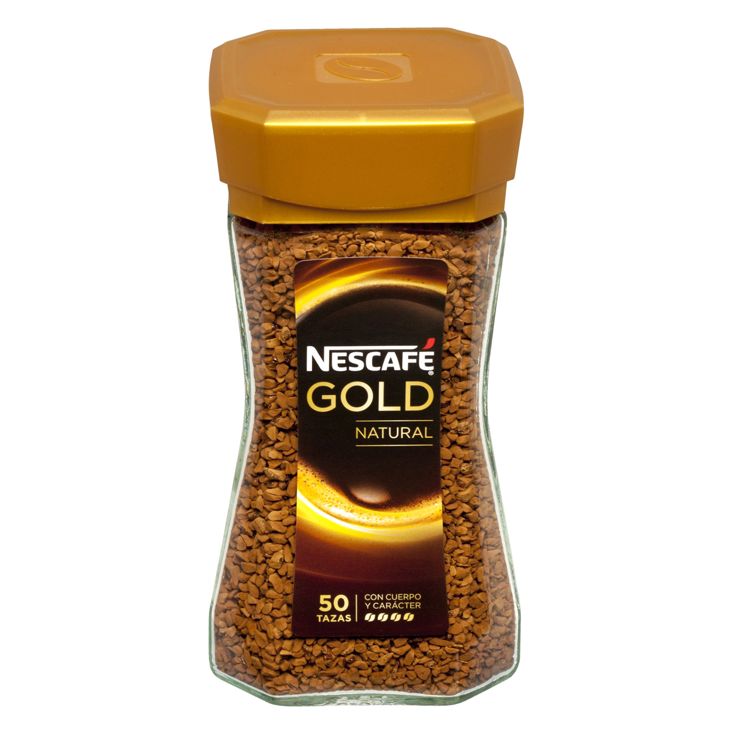 Café soluble natural Gold Nescafé 100 g. -