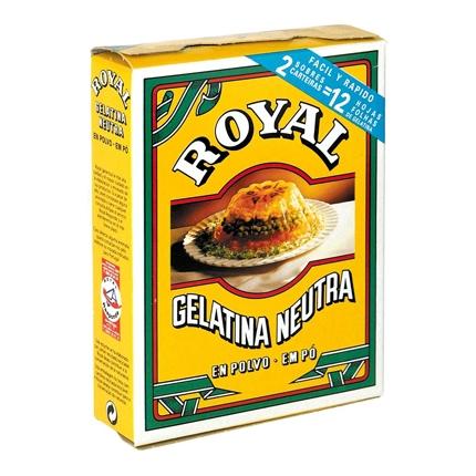 Gelatina neutra en polvo Royal 20 g.