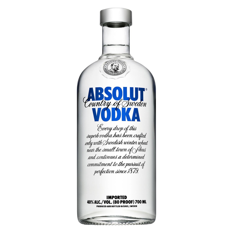 Vodka Absolut 70 cl.