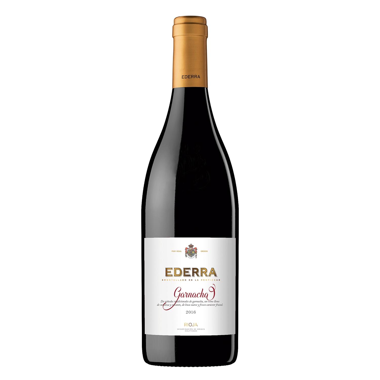 Vino D.O Rioja tinto Ederra 75 cl.