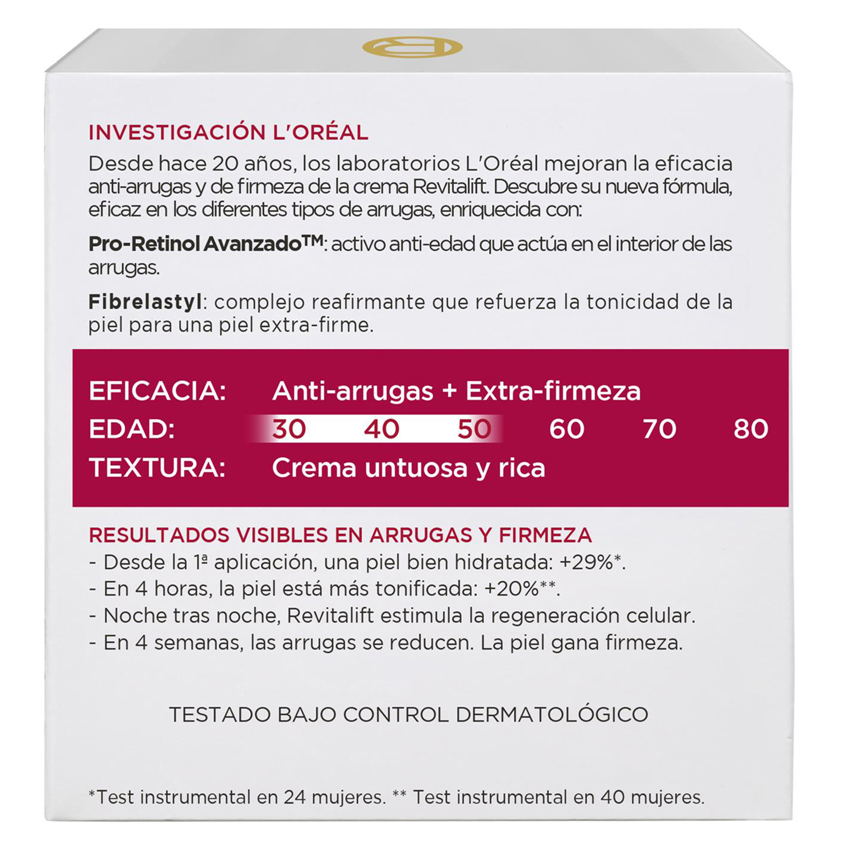 Crema de noche antiarrugas + firmeza - 2