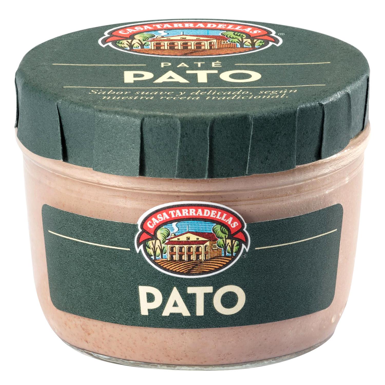 Paté de pato Casa Tarradellas 125 g.