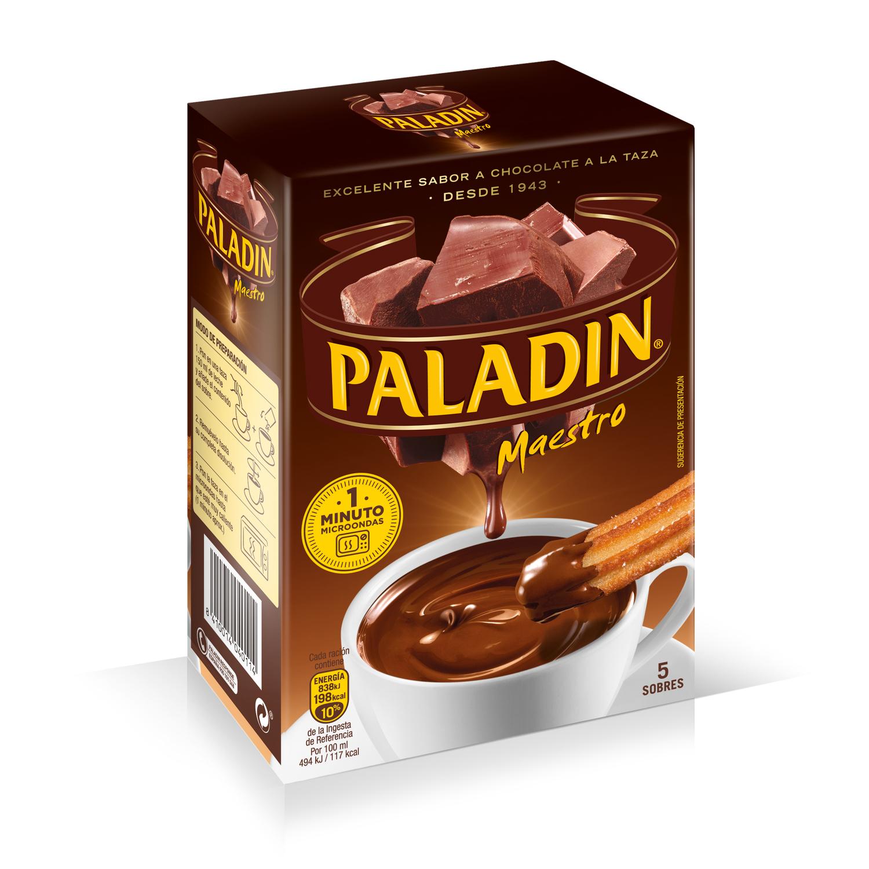 Chcolate a la taza en polvo Paladin 165 g.