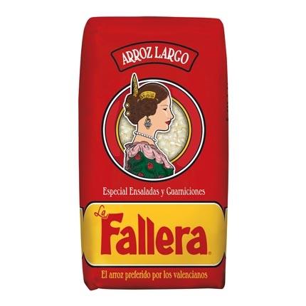 Arroz largo La Fallera para guarniciones 1 kg.