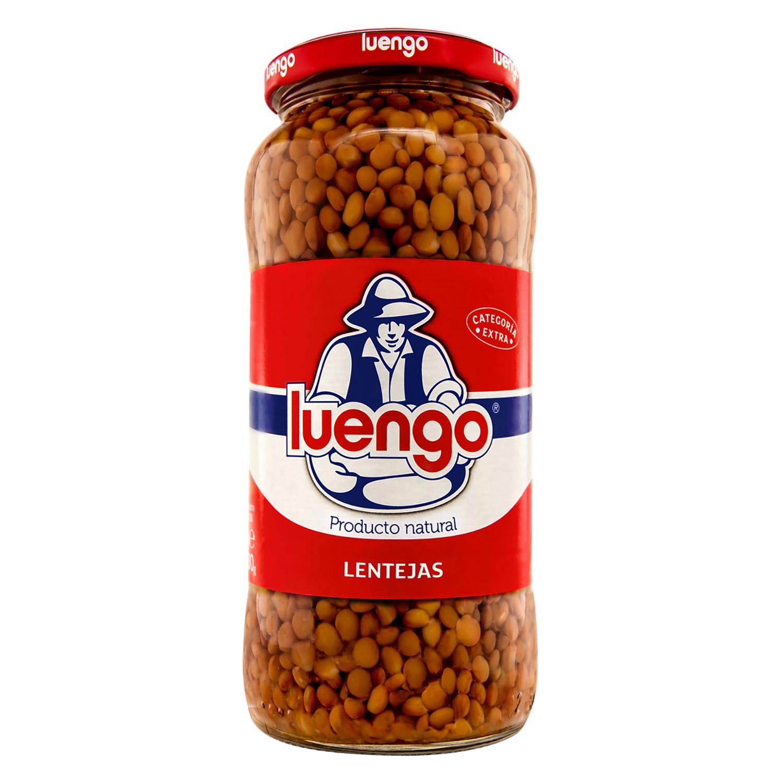 Lenteja cocida categoría extra Luengo 400 g.