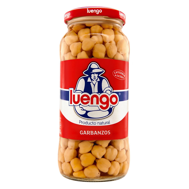 Garbanzo cocido Luengo categoría extra 400 g.