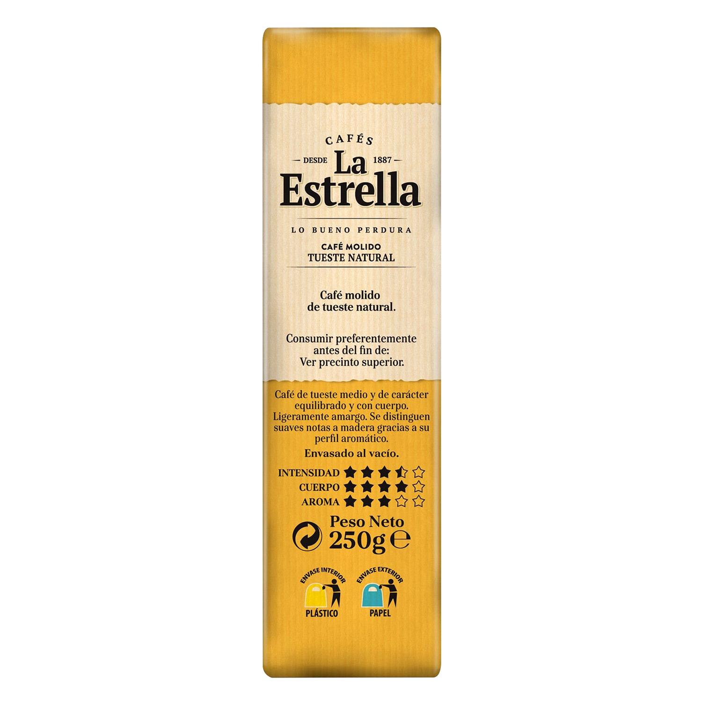 Café molido natural La Estrella 250 g. - 3