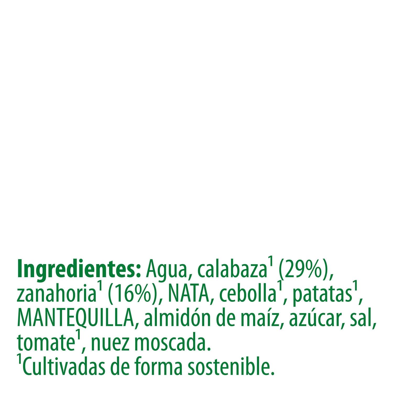 Crema de calabaza con nuez moscada Knorr 450 ml. - 3