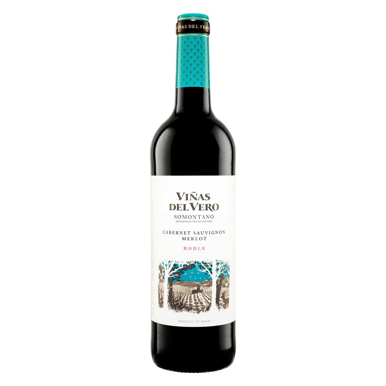Vino D.O. Somontano tinto Viñas del Vero 75 cl.