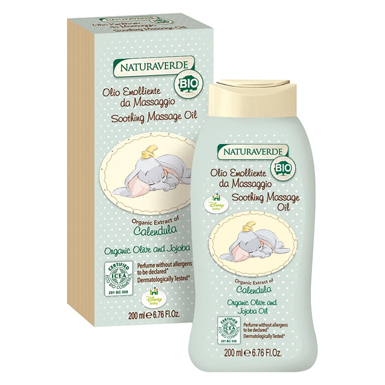 Aceite de masaje calmante Bio
