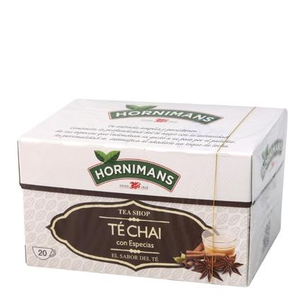 Té Chai con especias en bolsitas Hornimans 20 ud.