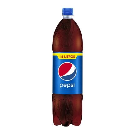 Refresco de cola Pepsi botella 1,5 l.