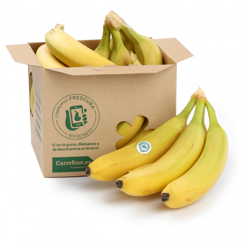 Banana Carrefour 1 Kg aprox - 2