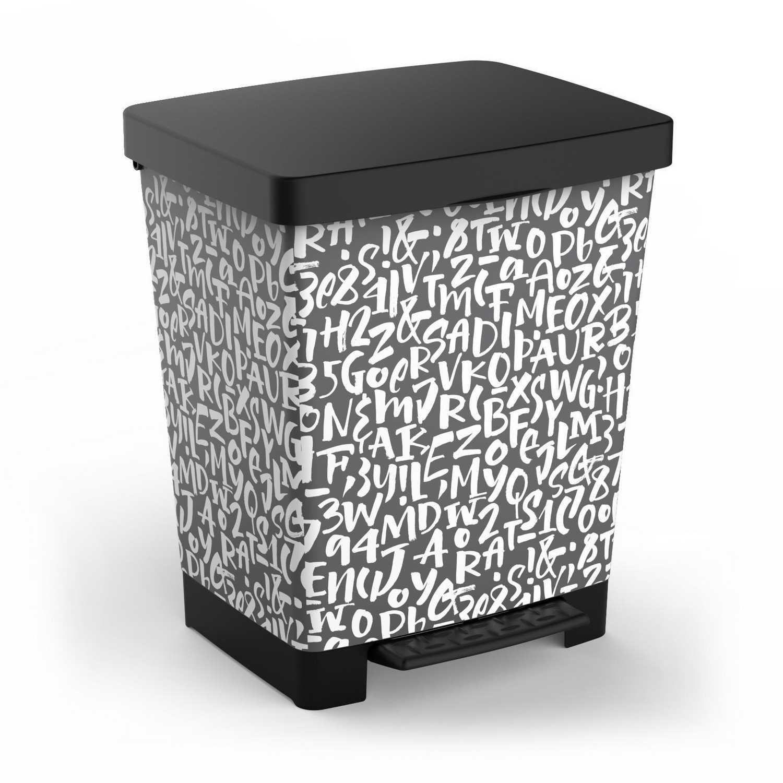 Cubo de Basura TATAY Cubik 23 l - Decorado