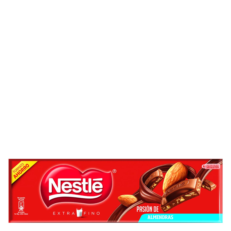 Chocolate con leche y almendras extrafino