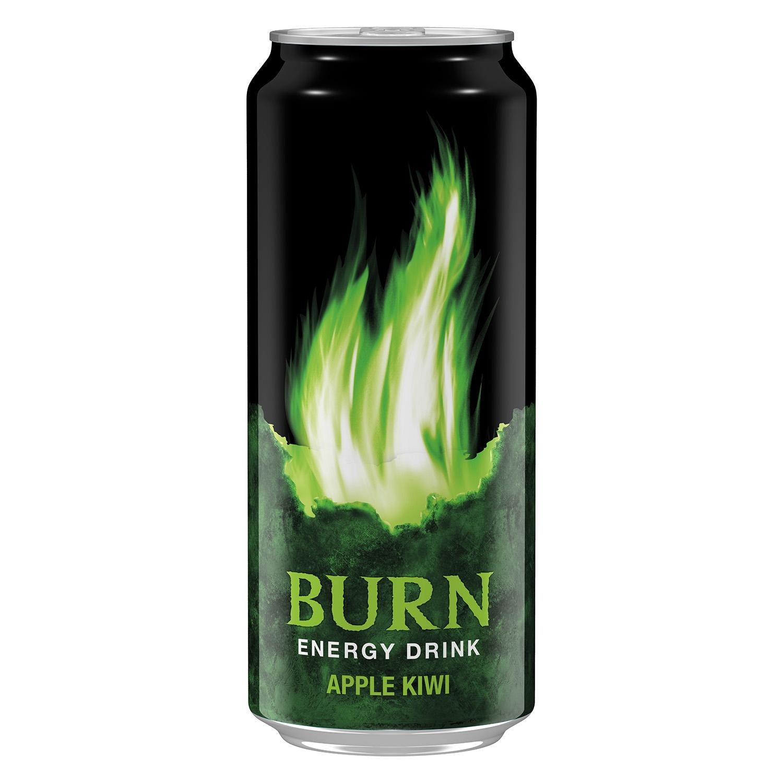 Refresco energético apple kiwi Burn - Carrefour supermercado compra ...