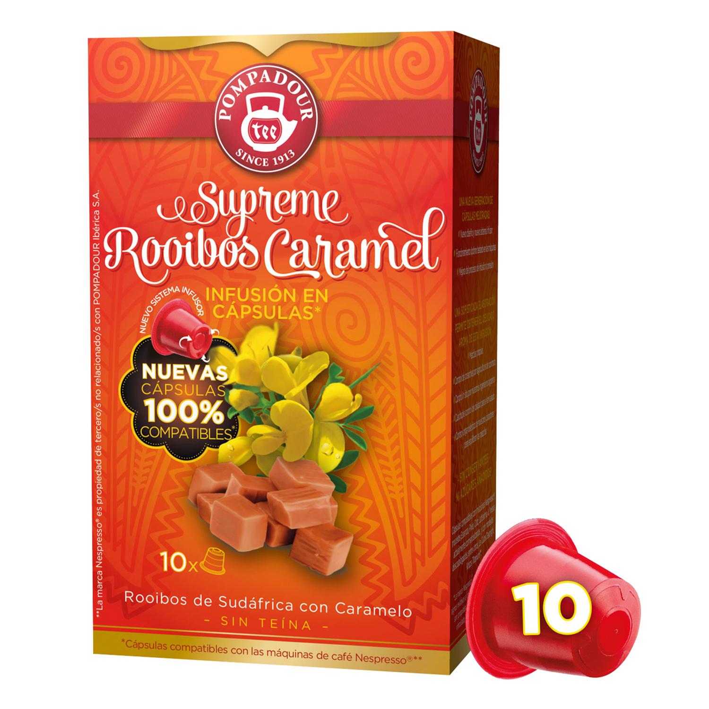 Infusión Rooibos con Caramelo cápsulas