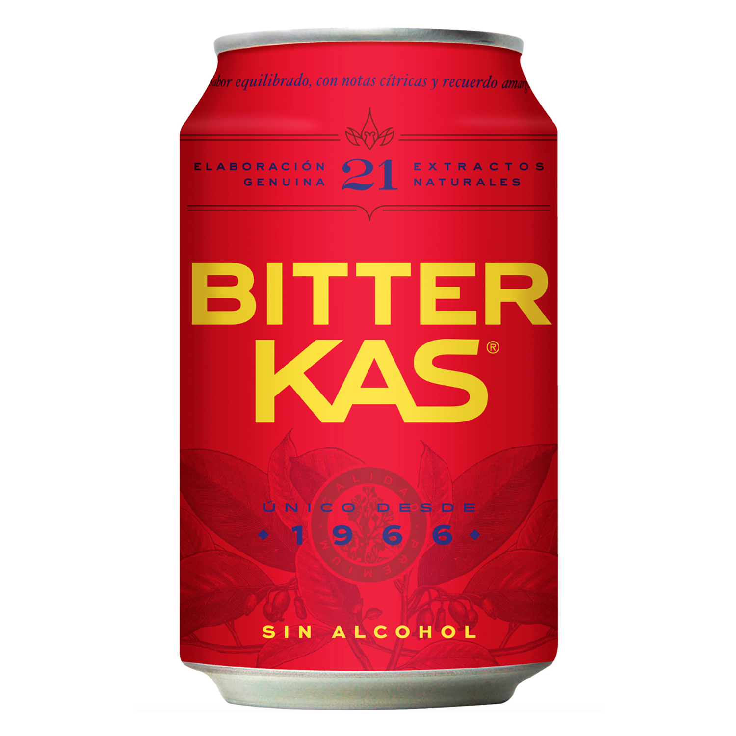Bitter Kas sin alcohol lata 33 cl.
