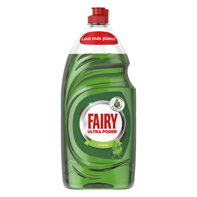 Lavavajillas a mano ultra poder Fairy 1015 ml.