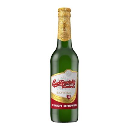 Cerveza Budejovicky checa botella 33 cl.