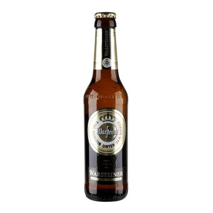 Cerveza Warsteiner botella 33 cl.