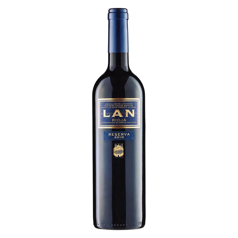 Vino D.O. Rioja tinto reserva Lan 75 cl.