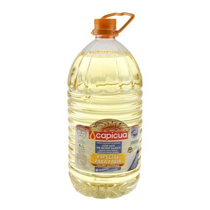 Aceite de girasol Capicua garrafa 5 l.