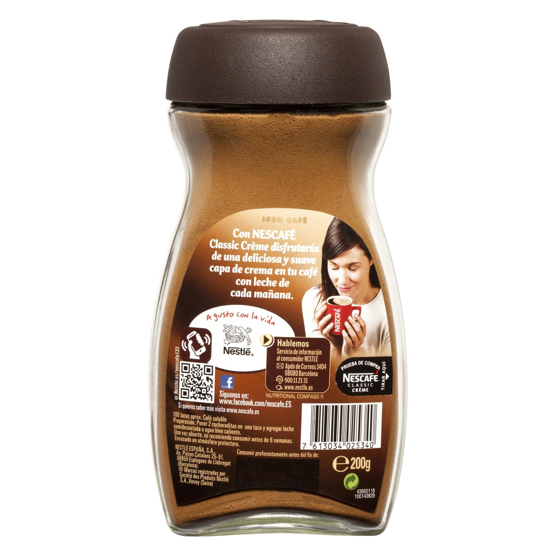 Café soluble natural con crema - 2