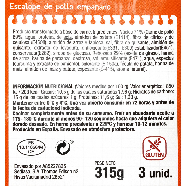 Escalope de Pollo Mesana 300 g - 3
