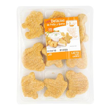 Delicias Kids de Pollo y Queso Mesana 400 g -