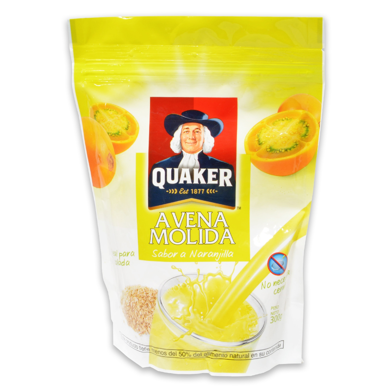 Avena molida sabor naranja Quaker 300 g.