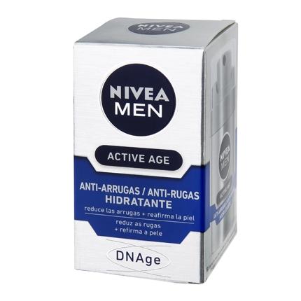 Crema hidratante anti-arrugas DNAge