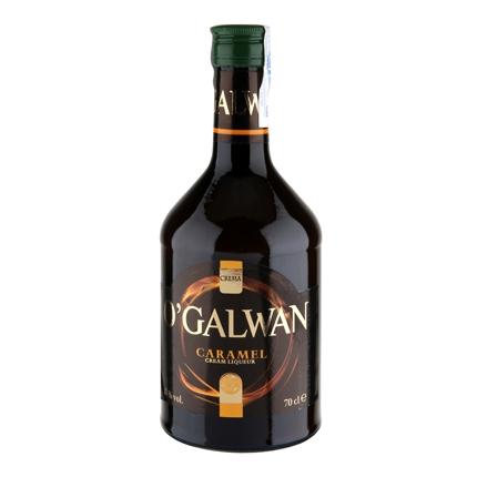 Crema de whisky O'Galwan sabor caramelo 70 cl.