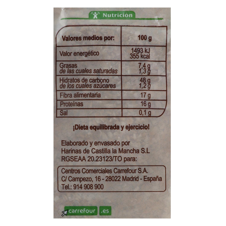 Salvado de avena ecológico Carrefour Bio 450 g. - 2