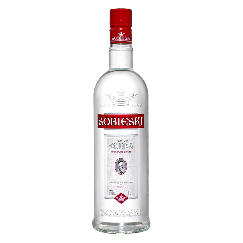 Vodka Sobieski premium 70 cl.