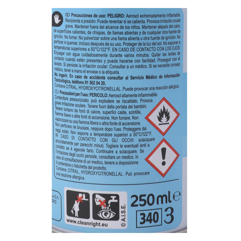 Ambientador spray Colonia Carrefour 250 ml. - 2