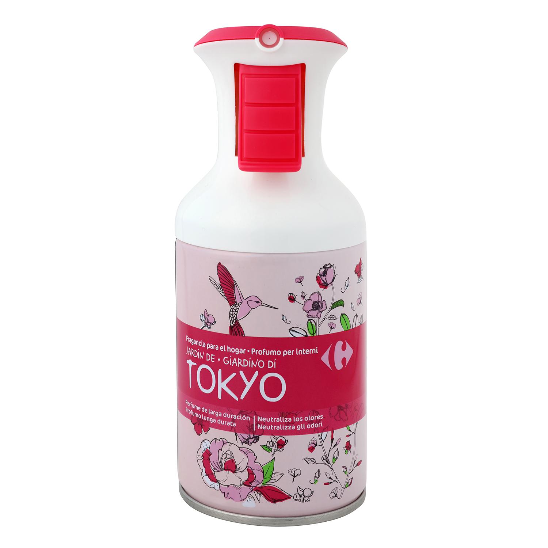 Ambientador spray Tokyo Carrefour 250 ml.