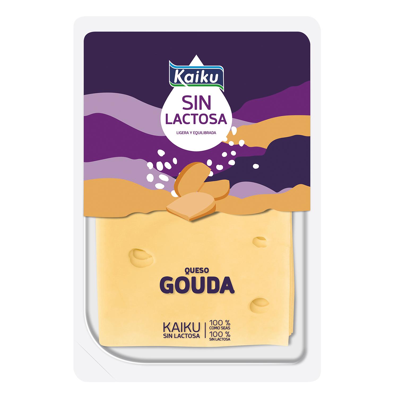 Queso Loncha Gouda sin lactosa