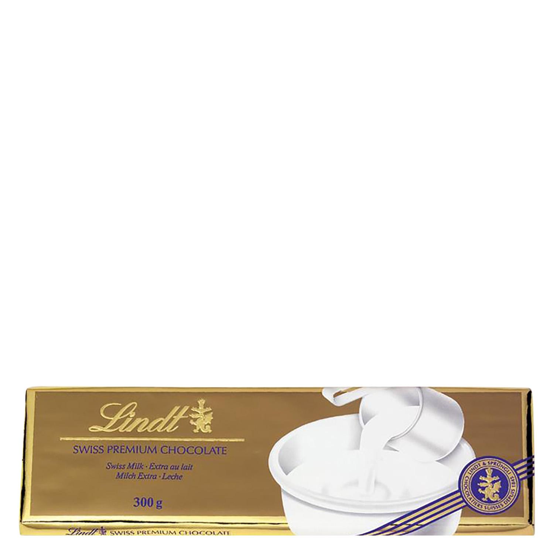 Chocolate suizo con leche premium Lindt 300 g.