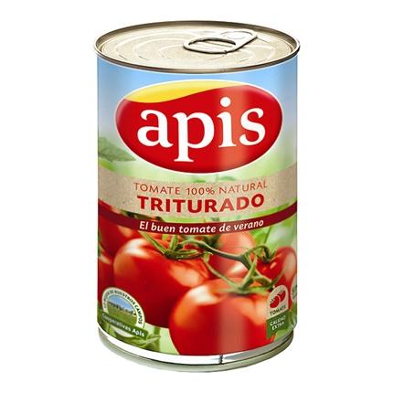Tomate natural triturado extra Apis 410 g.