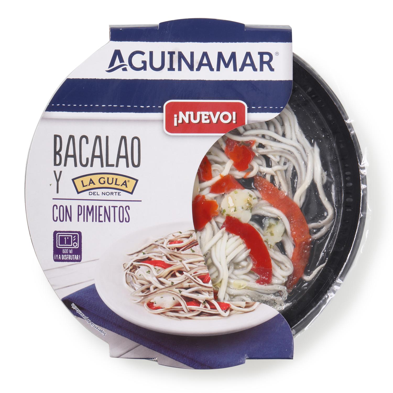 Bacalao con gulas y pimientos 150 g