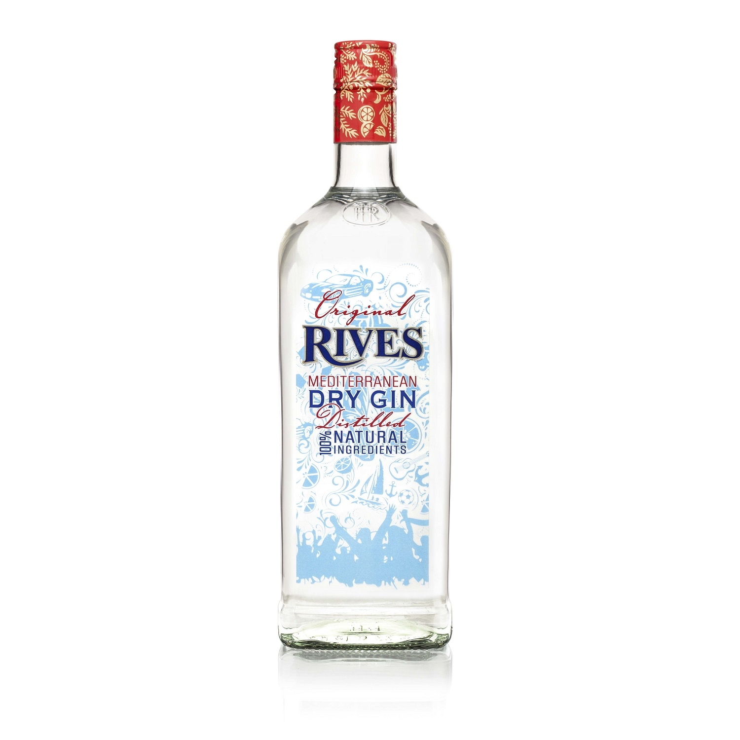Ginebra Rives original 1 l.