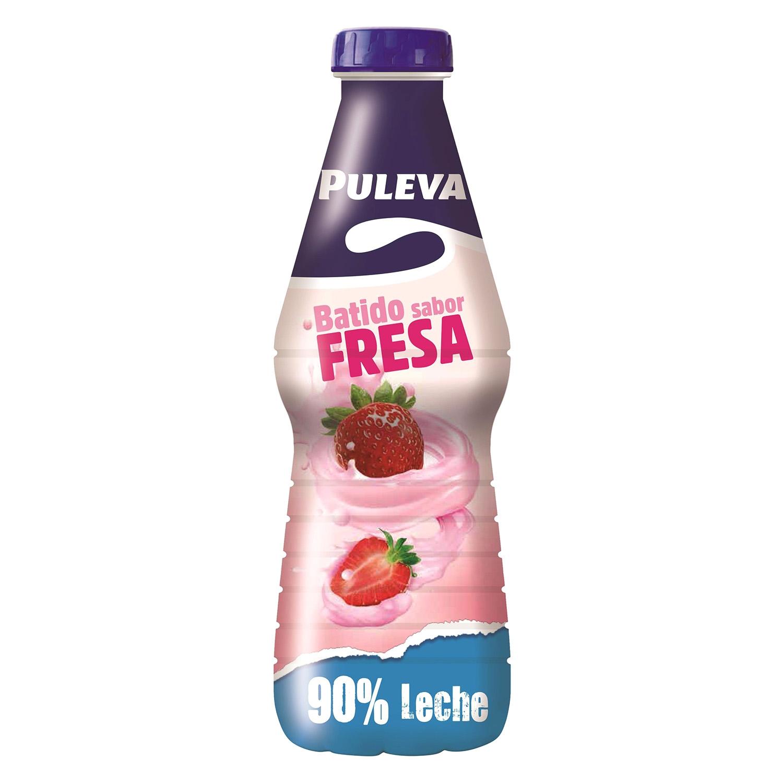 Batido de fresa Puleva botella 1l.