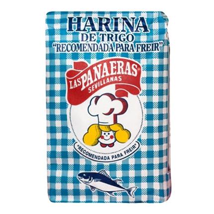 Harina de trigo para freír Las Sevillanas 1 kg.