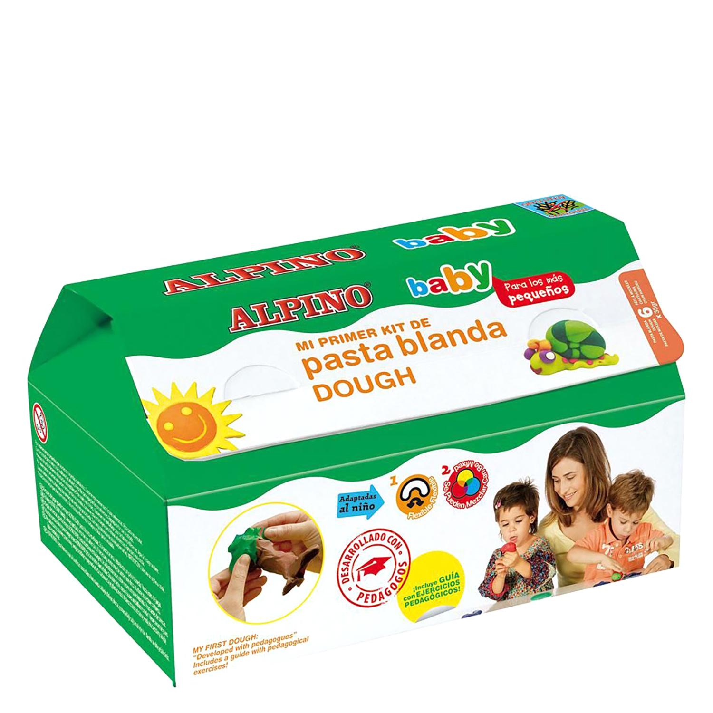 Kit Pasta Blanda (6 Botes+10 Moldes+Rodillo+Mantel)