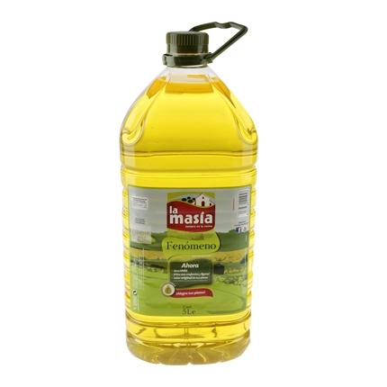 Aceite de semillas La Masía garrafa 5 l.