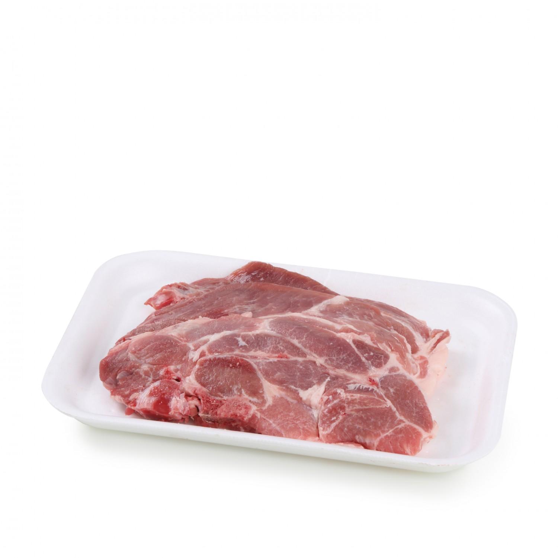Chuletas de Aguja Cerdo Carrefour 1 kg aprox -