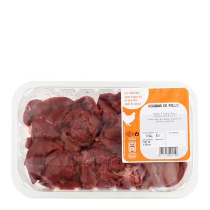 Hígados de pollo -