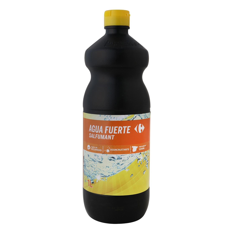 Agua fuerte Salfumant Carrefour 1 l.