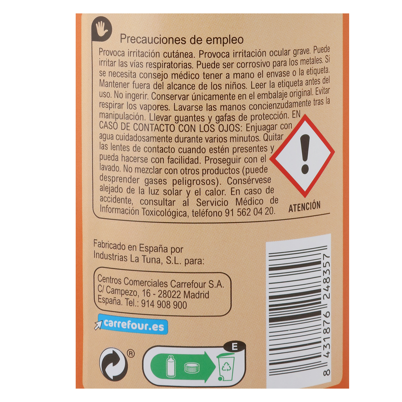 Agua fuerte Salfumant Carrefour 1 l. -